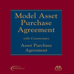 Model Asset Purchase Agreement Package - (Paperback)