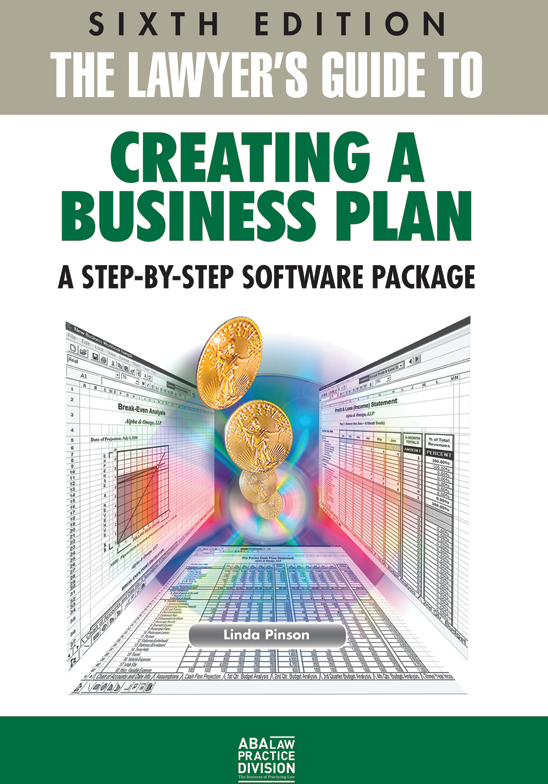 The Lawyers Guide To Creating A Business Plan Sixth Edition A - Business plan for lawyers template