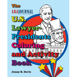 U.S. Lawyer Presidents Coloring and Activity Book