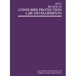 2013 Review of Consumer Protection Law Developments