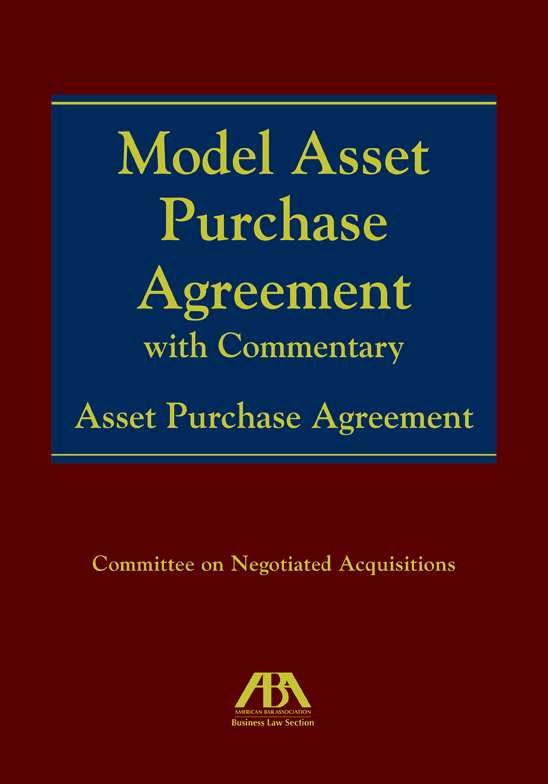 Model asset purchase agreement with commentary model asset purchase agreement with commentary paperback platinumwayz
