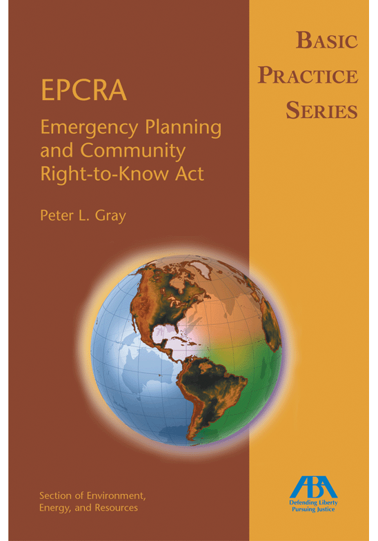 Basic Practice Series: EPCRA (Emergency Planning and Community Right-to-Know Act)