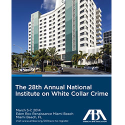 White Collar Crime 2014