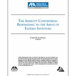 the annuity conundrum responding to the abuse of elderly investors