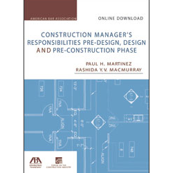 construction managers responsibilities pre design design and pre construction phase online download