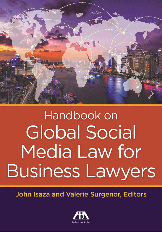 Handbook on Global Social Media Law for Business Lawyers