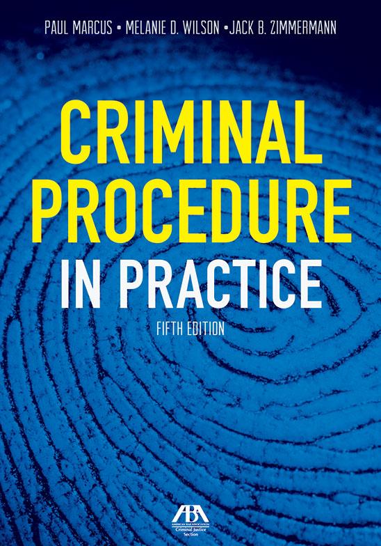 Publications | Criminal Justice Section