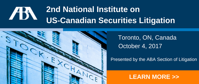 2nd Annual National Institute on US-Canadian Securities Law