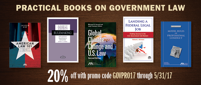 Government Resources - Save 20% with code govpro17 through May 31