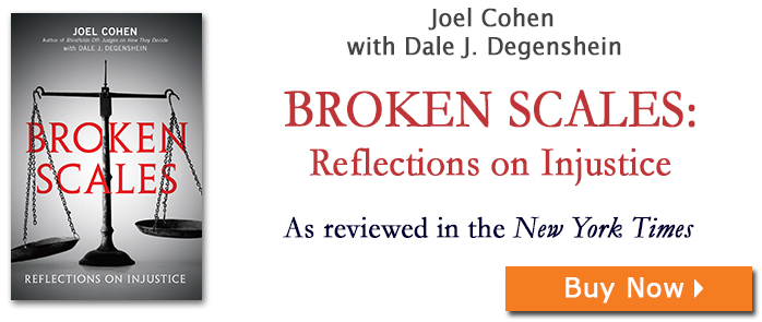 Broken Scales: Reflections on Injustice