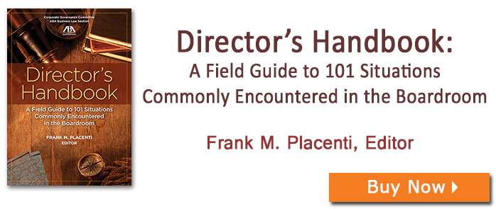 Director's Handbook: A Field Guide to 101 Situations Commonly Encountered in the Boardroom