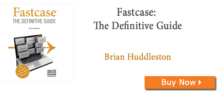 Fastcase: The Definitive Guide