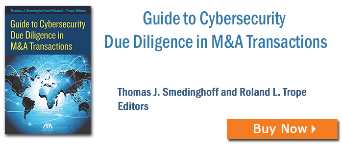 Guide to Cybersecurity Due Diligence in M&A Transactions