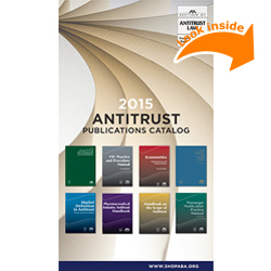 2015 Section of Antitrust Law Publications