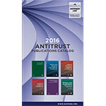 2016 Antitrust Law Book Catalog