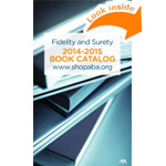 ABA Fidelity and Surety 2014-2015 Book Catalog