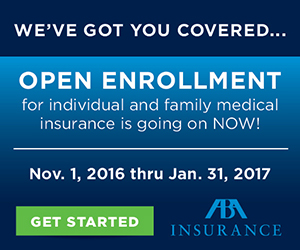 ABA Insurance - Open Enrollment Is Going On Now!