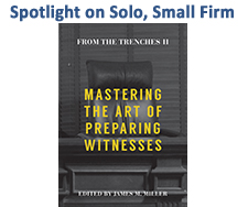 Spotlight on Solo, Small Firm